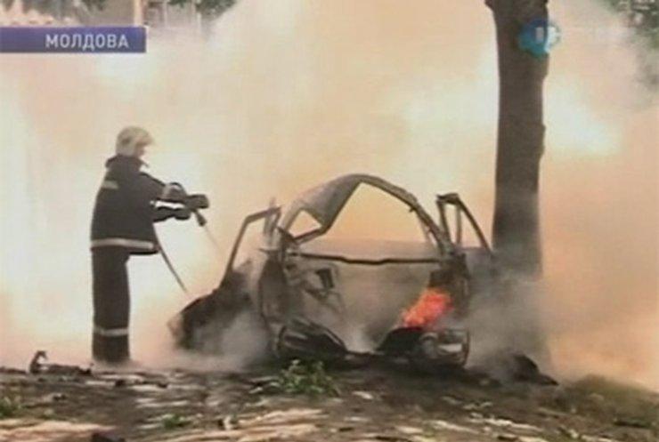 Взрыв в центре Кишинева расследует молдовская милиция