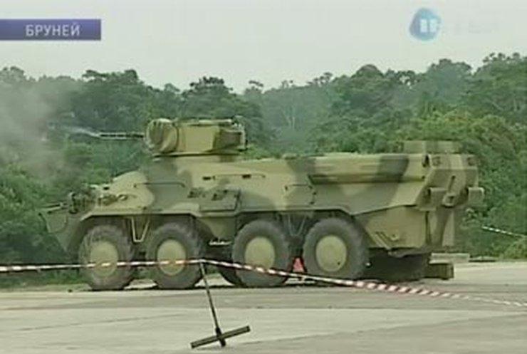 Украинские БТРы произвели фурор в Брунее