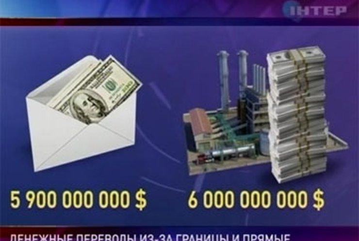Переводы в Украину от трудовых мигрантов сравнялись с прямыми инвестициями