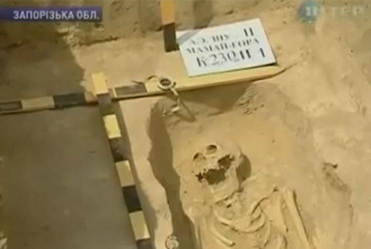 Археологи спешат исследовать Мамай-гору