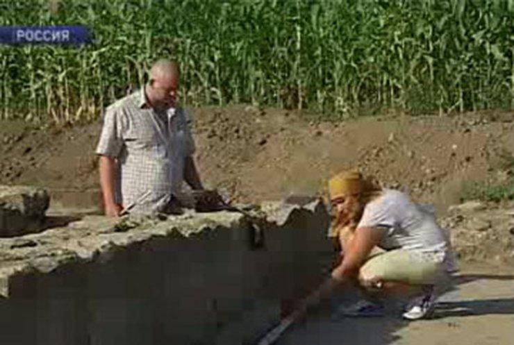 На Кубани нашли древнегреческий храм