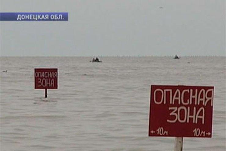 Ученые подозревают, что в Азовском море возле Юрьевки люди тонут из-за газа