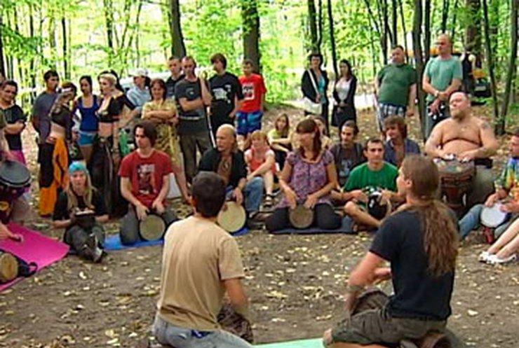 На Житомирщине прошли соревнования среди барабанщиков