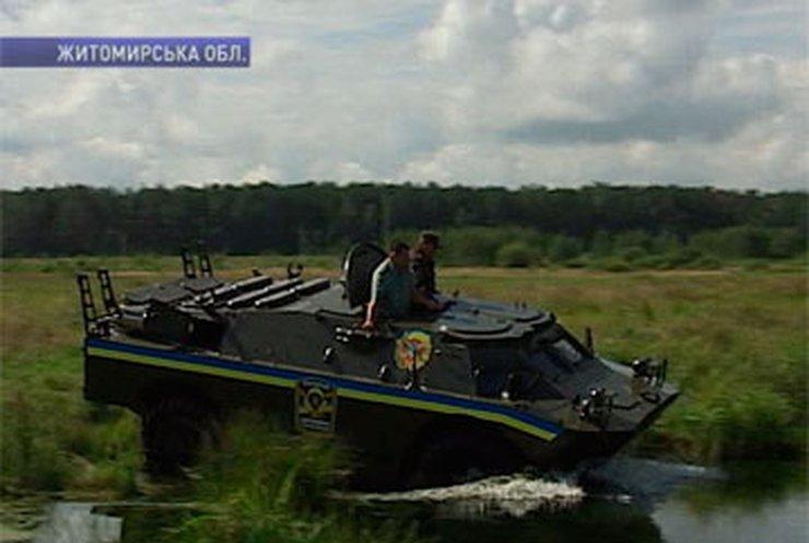 Житомирские лесники ловят нарушителей с помощью БРДМ