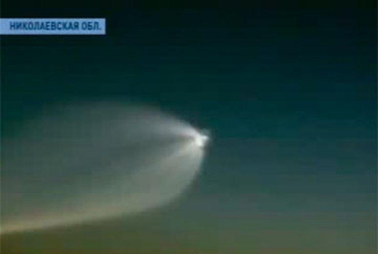 В Одесской области был замечен метеорит