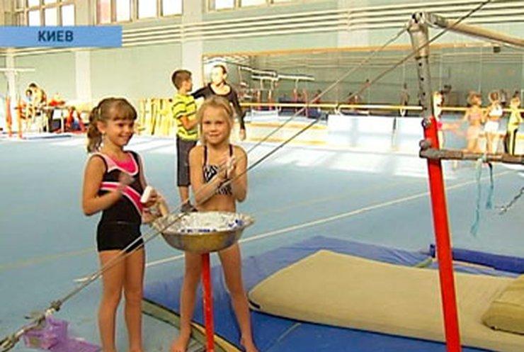 Юные девочки гимнастки фото голые 2 фотография