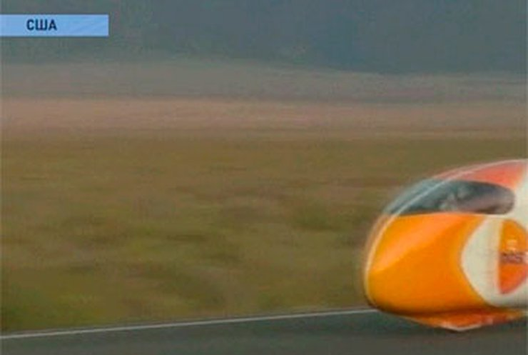 Голландский велосипедист развил скорость 130 километров в час