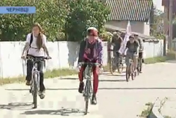 """Украинцы приобщились к акции """"День без авто"""""""