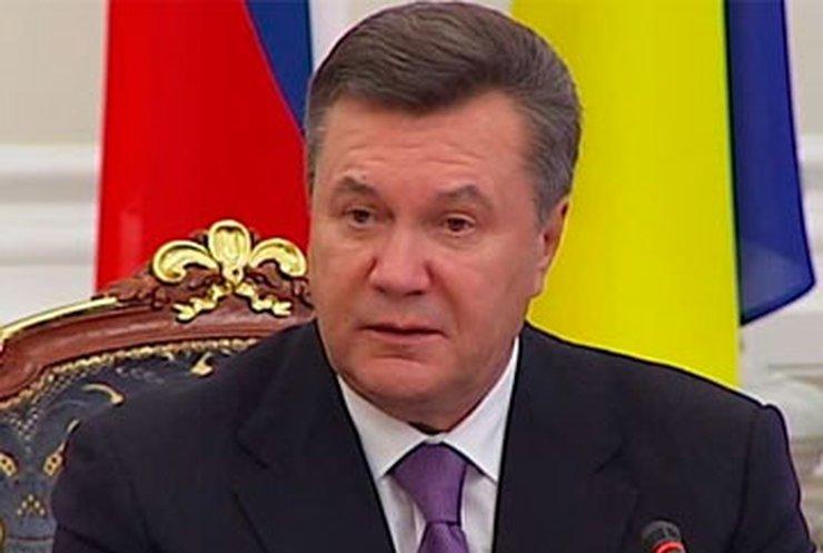 Янукович огорчен приговором Тимошенко