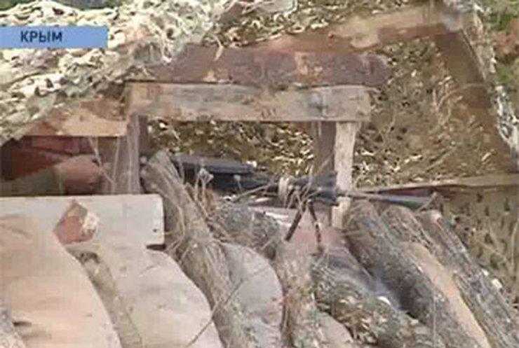 В Крыму сегодня рвались бомбы