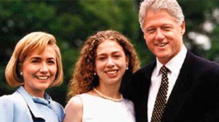 дочь клинтон фото