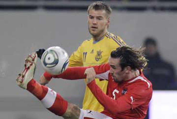 Девич принес победу Украине над Австрией