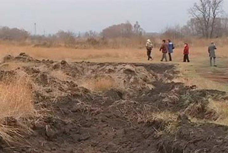 С харьковских полей воруют чернозем