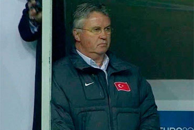 Гуса Хиддинга уволили с должности тренера сборной Турции