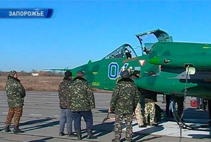 В Запорожье провели модернизацию самолетов ВВС Украины