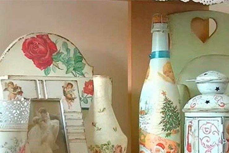 Жительница Днепропетровска создает винтажные аксесуары из обычных вещей