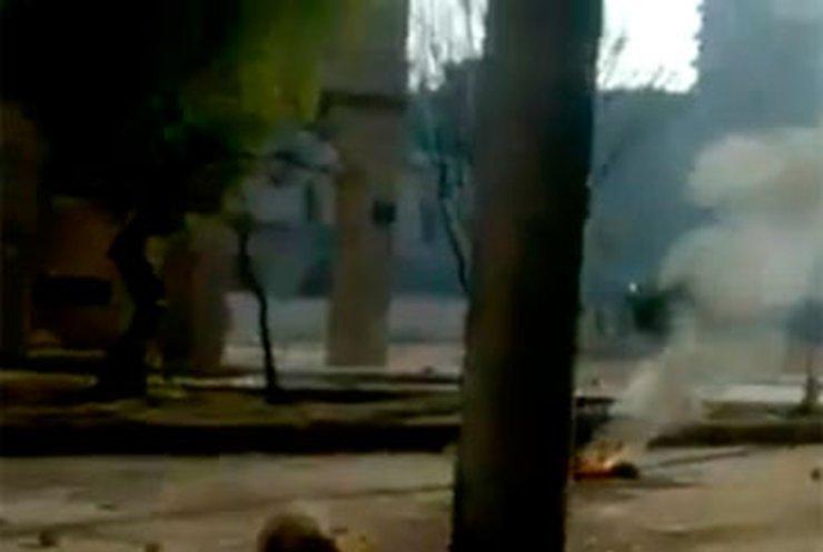 В сирийском городе Хама начались перестрелки