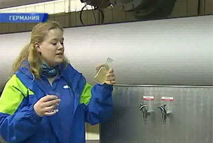 В Германии из крана идет полезная вода