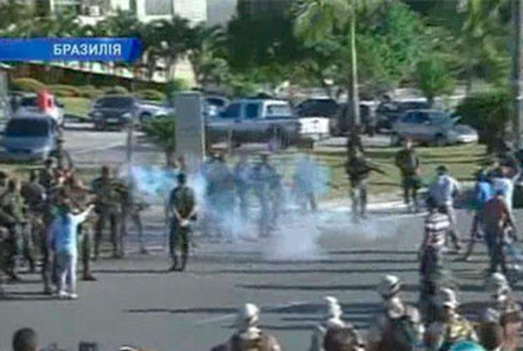 В бразильском штате Байя продолжаются бои между полицией и армией