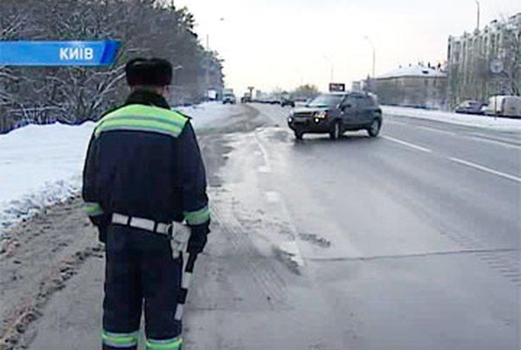 Уже второй день работники ГАИ могут отобрать автомобили просто на дороге