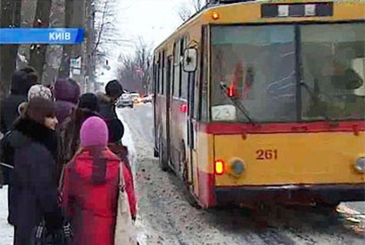 Киевские автобусы и троллейбусы пройдут терморевизию