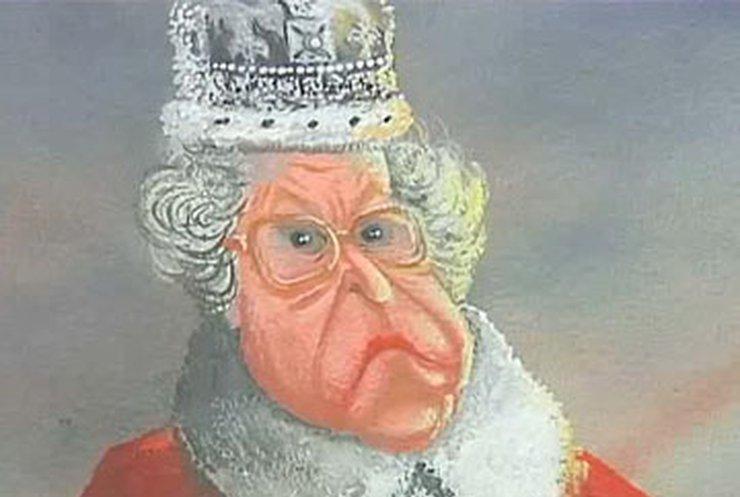 В Лондоне открылась выставка карикатур на Елизавету Вторую