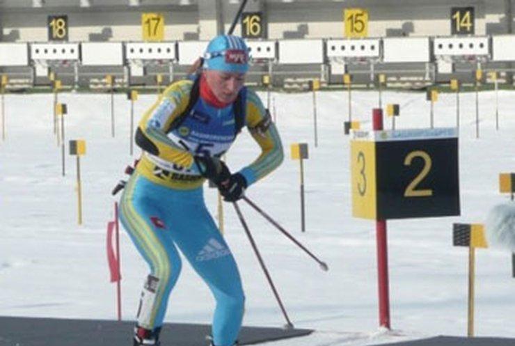 Вита Семеренко стала второй в спринте на этапе Кубка мира