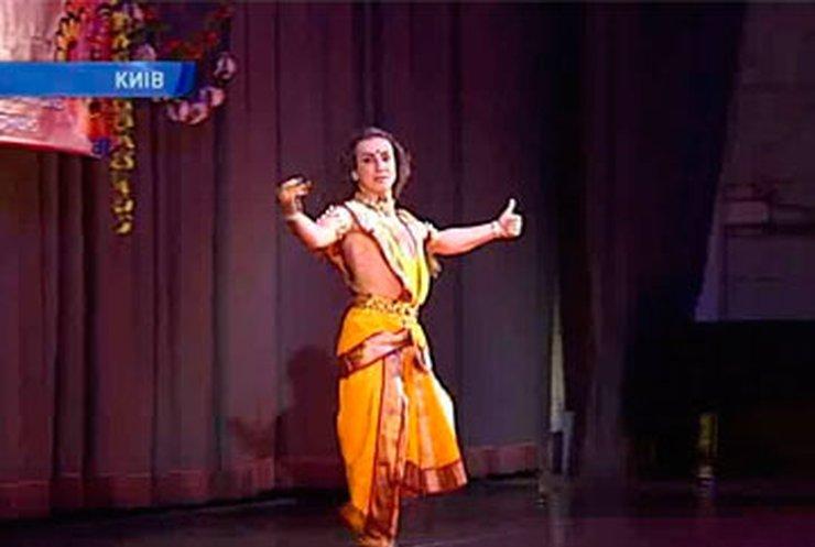В Киеве прошел праздник индийских танцев