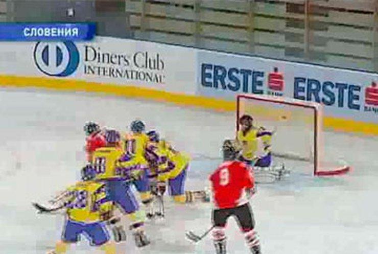 Сборная Украины по хоккею потерпела поражение от сборной Венгрии