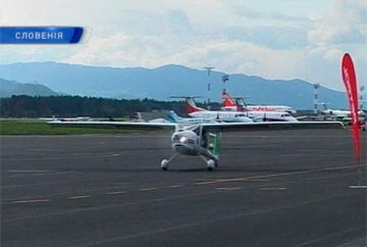 Словенец облетел земной шар на сверхлегком самолете за 103 дня
