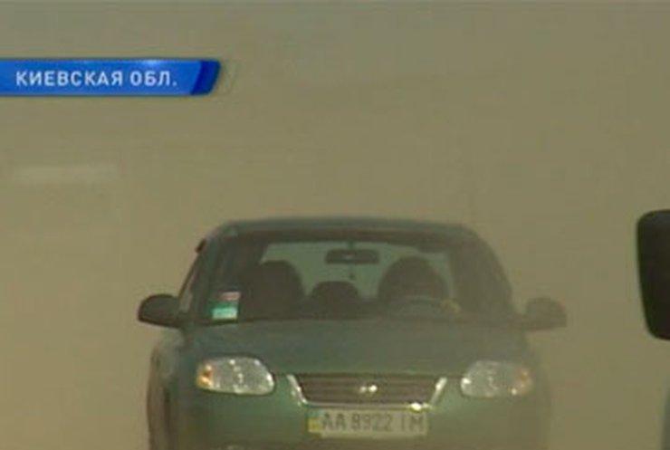 Жители Киевщины встали на защиту сельской дороги