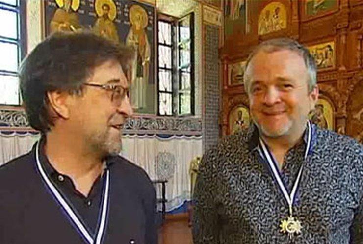 Карамазова и Шевчука наградили церковными орденами