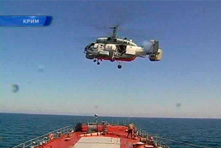 На Черном море прошли российско-украинские учения