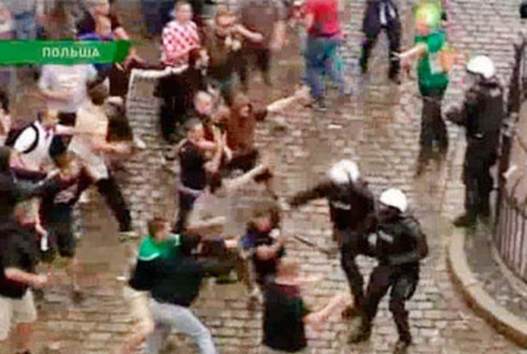 Хорватские фаны подрались с полицией