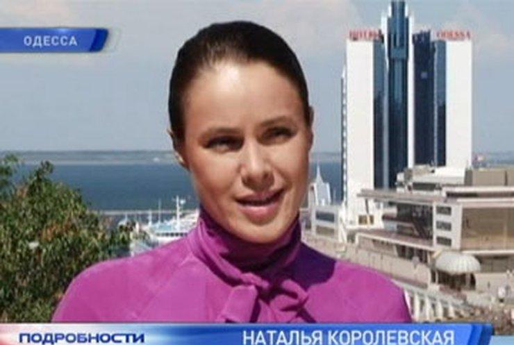 Наталья Королевская хочет развивать морские порты Украины
