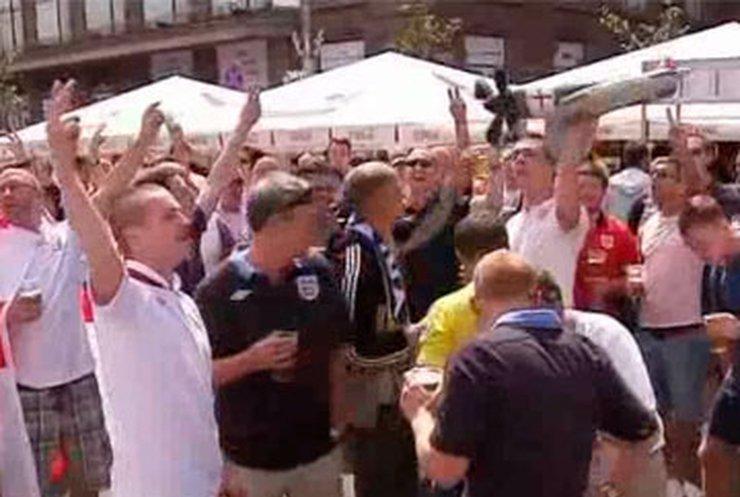 В Киев на игру Англия-Италия прилетят тысячи английских фанатов