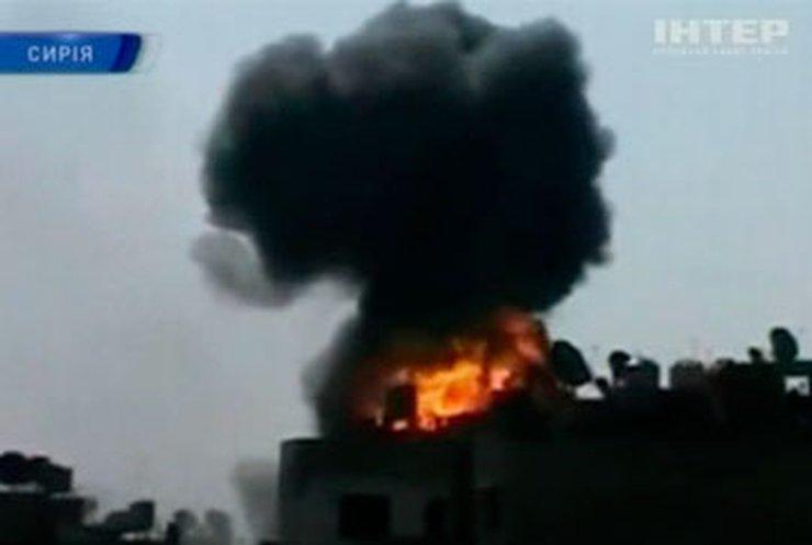 Совершено нападение на правительственный телеканал в Сирии