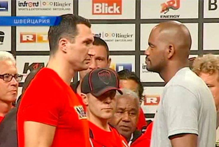 Сегодня состоится бой Кличко - Томпсон