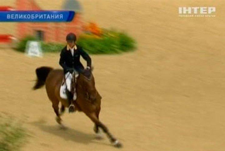 Риветти достойно представил Украину на соревнованиях по конному спорту