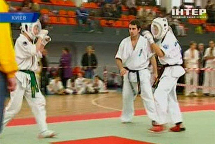 В Киеве прошел международный турнир по араши карате