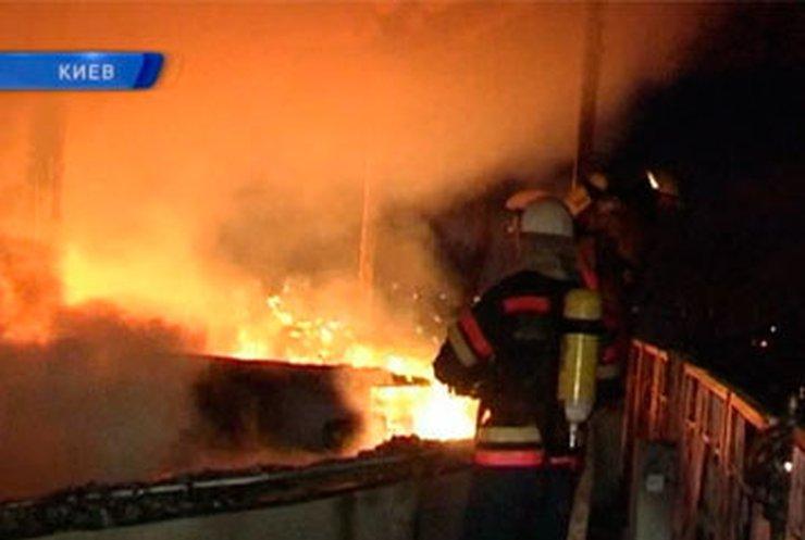 В Киеве сгорел элитный ресторан