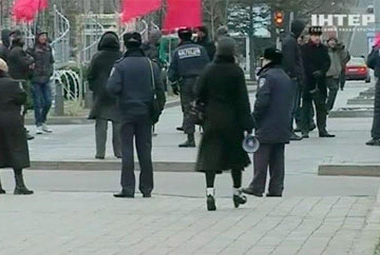 Жители Днепропетровска протестуют против медицинской реформы
