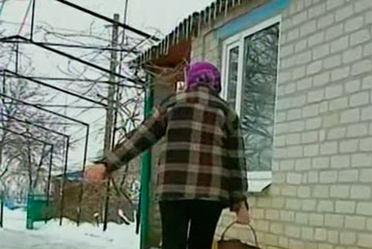 Жители отдаленных сел Запорожской области вынуждены отапливать дома углем