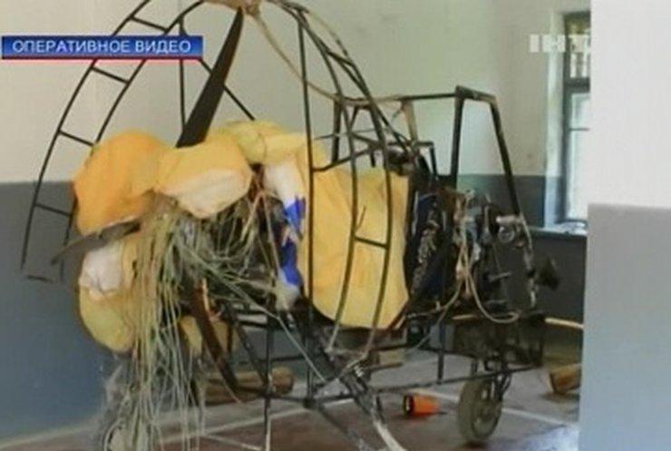 Закарпатские контрабандисты приспособили для своих нужд дельтаплан