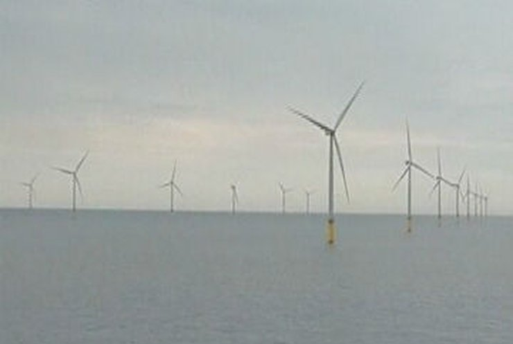 Британия запустила морскую ветроэлектростанцию