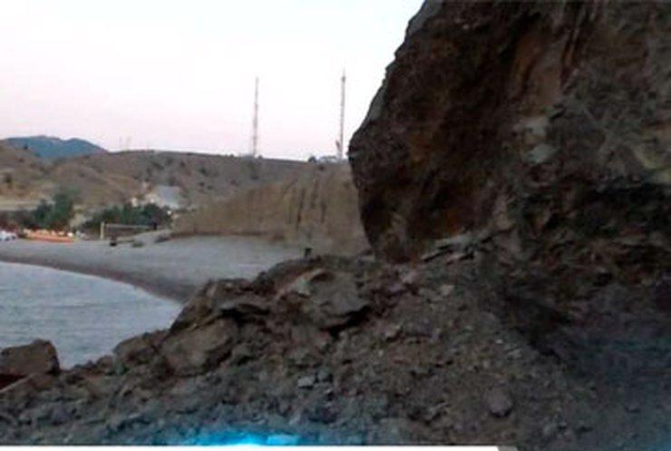 В Крыму сошел оползень. Есть жертвы
