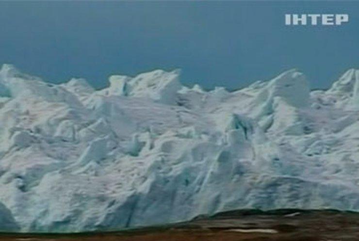 Под ледяным щитом Гренландии обнаружили гигантский каньон