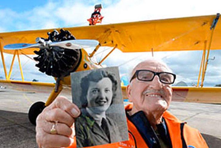 Возраст не помеха: 93-летний воздухоплаватель побил собственный рекорд