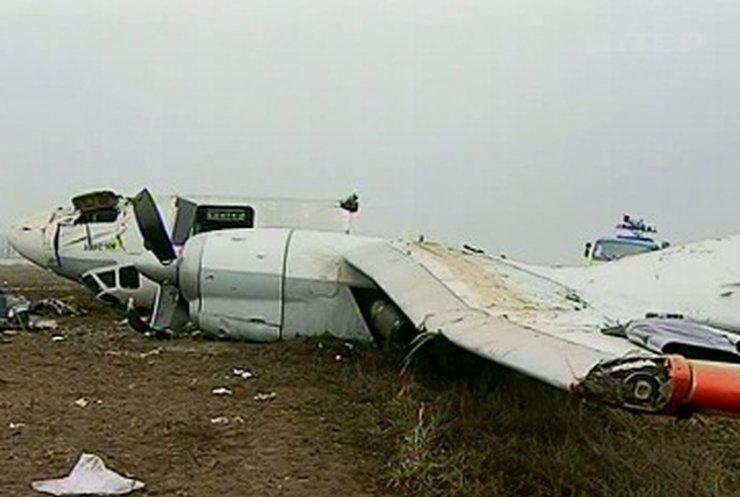 Причиной падения самолета в Донецке стала ошибка экипажа, - прокуратура