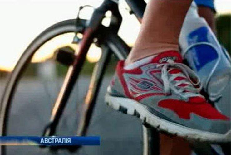 Австралийский велосипедист проехал задом наперед 337 километров